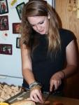 Montana Preparing food for Harvest Fest