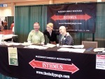The friendly greeters at the entrance to the Isthmus Green Day Expo