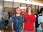 Brendan and Adam at the Energy Fair