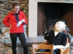 Julia interviews Thoreau, with the help of Chris