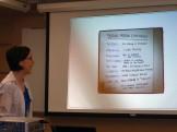 "UWSP Graduate Fellow Rebecca Deatsman presented ""Twitter 101 for Environmental Educators"""
