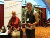 CS4 Student Nathan with Jane Goodall