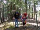 Nathan and Miranda on the trail