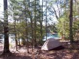 Fritz's camping spot