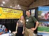 Paige Nygaard and Stefan Anderson at Green Festival Chicago