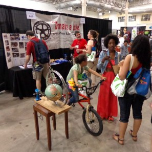 Working Bikes Cooperative at Green Festival Chicago