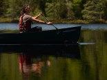 13-05-24 5 lake loop Bri paddling from Rennicke