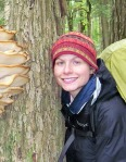 Amanda Nosal on a trip with Conserve School students in the Porcupine Mountains