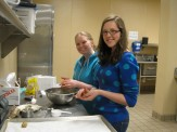 Making treats during Stewardship in Action