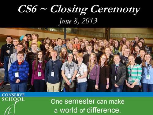 Conserve School Semester 6