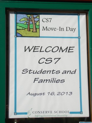 13-08-16 Welcome to Conserve Sign