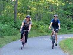 On the Land O' Lakes Bike Path
