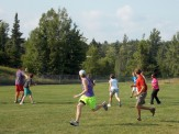 More ultimate frisbee