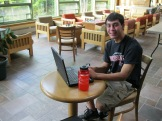 Kansai gets acquainted with his new tech tool box in study hour, ready to haste the day!