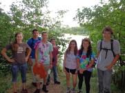 At portage between Cub and Deer Island Lakes