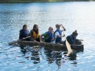 Paddling on Little Donahue Lake