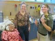 Olivia and Sara have completed their representation of Wangari Maatai