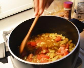 Aloo Gobi dish