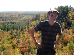 Erik and the fall colors at the NCT