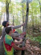 Students and teachers team up to improve trails