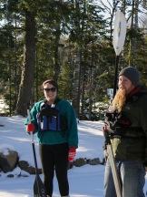 Michelle and Field Instructor Matt