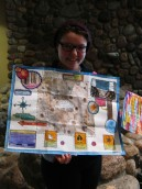 Michelle and her phenology map