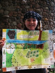 Randa and her phenology map