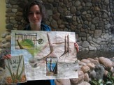 Sarah and her phenology map