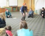 Fiskars demonstrating the gait patter of bounders