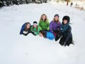 Heidi, Maddie, Mary, Olivia, and Allie