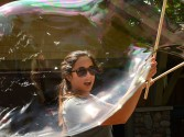 Bubble fun with the Rennickes