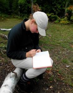 Journaling during Exploration Week