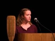 Speaking at the Semester Celebration