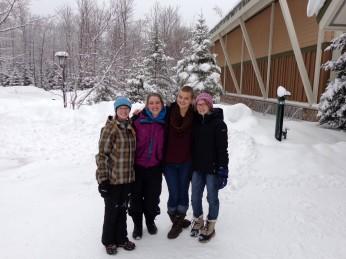 Allison, Bryn, Selena & Rosemary