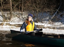 Snowy Paddle