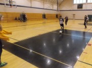 In the recreation center