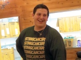 Matt's smile typifies the fun of Camp Birkie