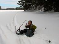 Antonia on Big Bateau Lake