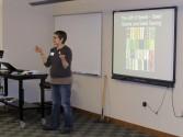 Debbie Ketchum-Jircik leading the seed saving workshop