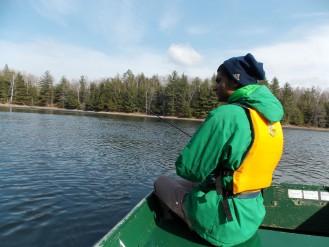 Fishing Little Donahue Lake