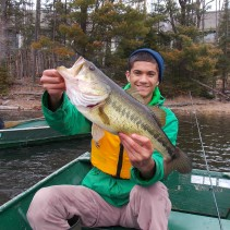 Biggest fish of the day - 20.5 inches