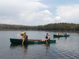 Canoeing on Loon Lake