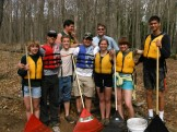 Group at the Loon campsite