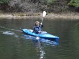 14-05-22 At Start Windy Blue Kayak