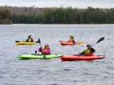 14-05-22 End of Day four kayaks open water