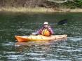 14-05-22 End of Day orange kayak