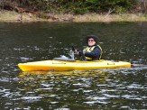 14-05-22 End of Day Yellow Wilderness Kayak