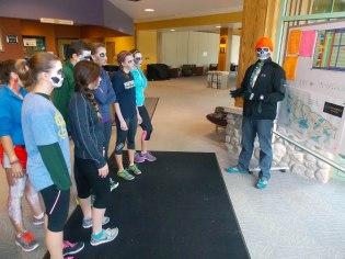 Organizing a Zombie Run