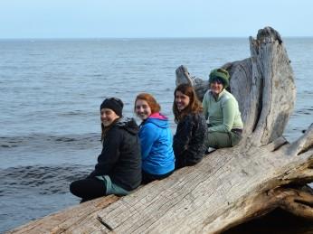 Annie, Lena, Marina and Kayla