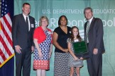 Greendale School District with award from Dept of Ed